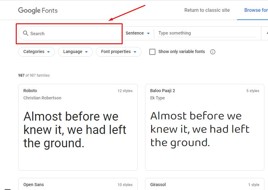 cara download font di google font
