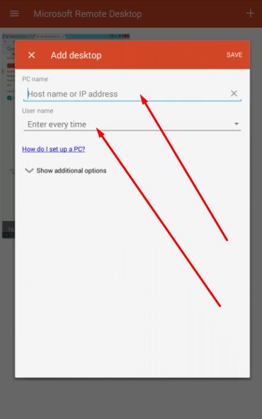 cara menjalankan RDP di hp android