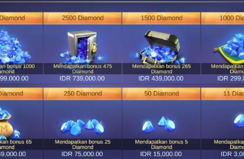 Diamond mobile legends