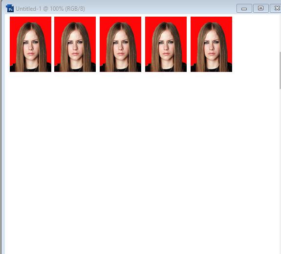 Cara Membuat Ukuran Pas Foto 2x3 3x4 4x6 Di Photoshop -