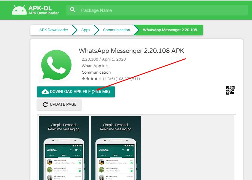 download apk via pc di apk-dl