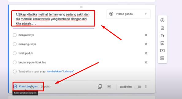 Membuat Ujian Online dengan Google form
