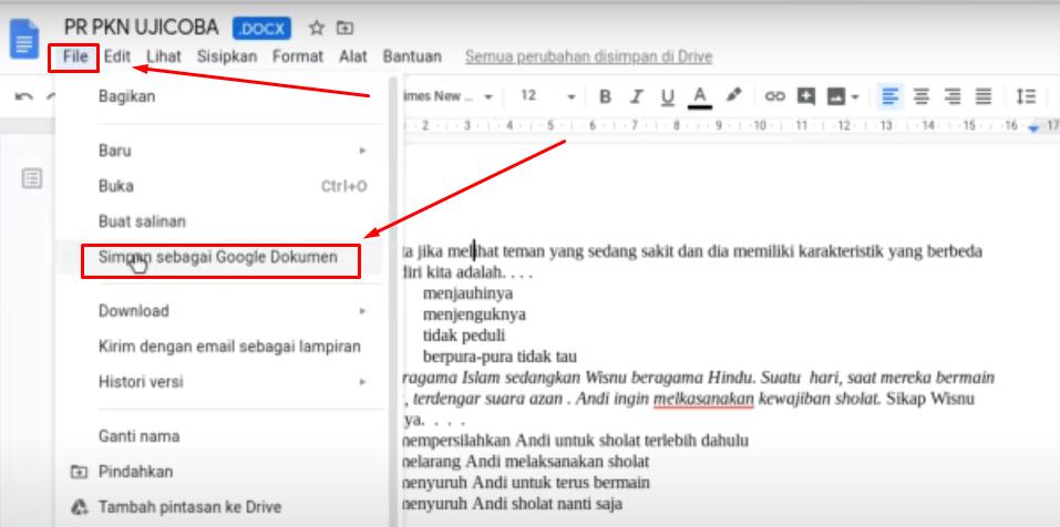 Cara Membuat Ujian Online di Google form