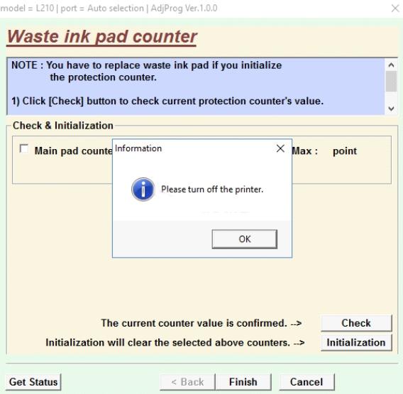 reset printer epson dengan sofware