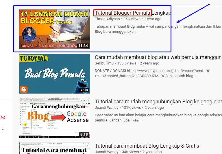 ambil tag dari video pesaing