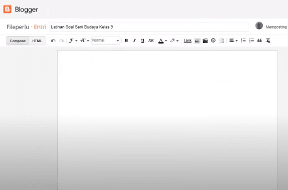 Google form di blogger