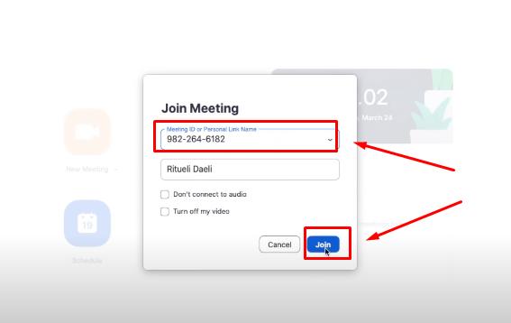Join meeting aplikasi zoom