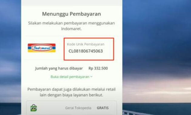 Top up saldo google play di indomart
