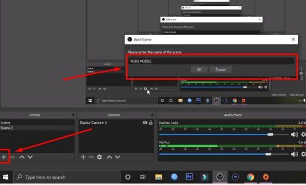 cara setting obs untuk streaming game