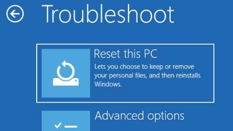 reset windows 10 tanpa instal ulang