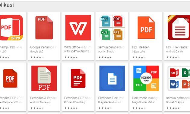 aplikasi untuk membikla file pdf