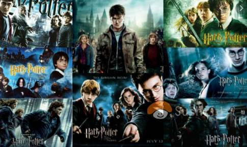 koleksi film harry potter